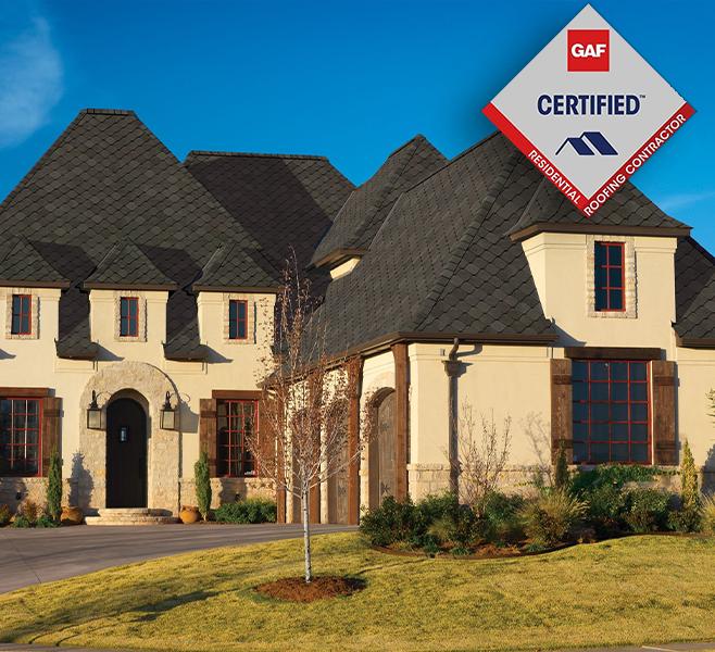GAF certified roofing contractor virginia